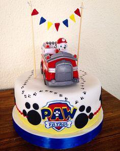 Paw patrol Cake! Marshall Más