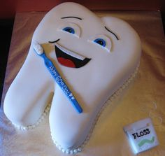 Cake It to the Limit Unique Cakes, Creative Cakes, Beautiful Cakes, Amazing Cakes, Fondant Cakes, Cupcake Cakes, Dental Cake, Doctor Cake, Birthday Cakes