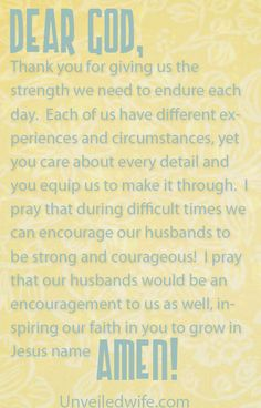 Prayer Of The Day – Being Strong & Courageous