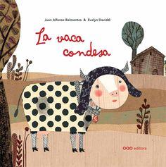 Evelyn Daviddi ilustra 'La vaca Condesa', publica OQO en su Colección O.
