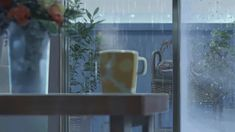 The perfect Fall Season Coffee Animated GIF for your conversation. Discover and Share the best GIFs on Tenor. Film Anime, Anime Gifs, Art Anime, Gif Animé, Animated Gif, Gif Chuva, Rain Gif, The Garden Of Words, Image Manga