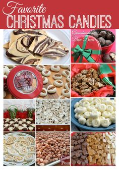 10 Favorite Christmas Candies ~ http://www.southernplate.com