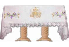 Manteles de altar bordados - Comprar manteles de altar bordados - Brabander.es