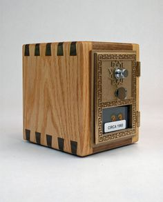 1000 images about post office box on pinterest post for Large piggy bank with lock