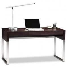 with a clean linear design and beautifully finished surfaces the cascadia desk has ak1340 designer office desk