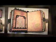 FAR & AWAY fantasy fairytale adventure Premade Shabby Chic scrapbook album… Mini Albums Scrapbook, Papel Scrapbook, Scrapbooking, Mini Albums Photo, Album Book, Cardboard Crafts, Graphic 45, Mail Art, Book Making