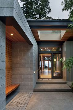 Contemporary Sustainability Home: Ellis Residence by Coates Design
