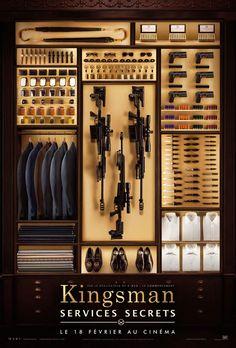 Kingsman : Services secrets, avec Colin Firth, Samuel L. Jackson