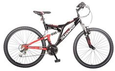 Muddyfox Mens Recoil26 Mountain Bike Dual Suspension Cycling Bicycle  Price…