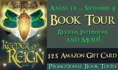 Literary Winner - Keeper of Reign Book Blast