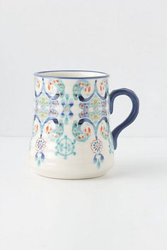 Beautiful coffee mugs = new obsession.  The only way my thesis is going to get written is with a LOT of coffee...