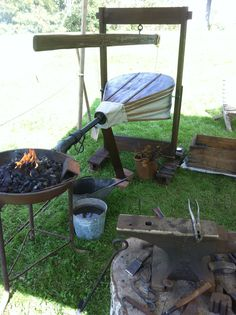 A portable bellows I made for a pioneer event