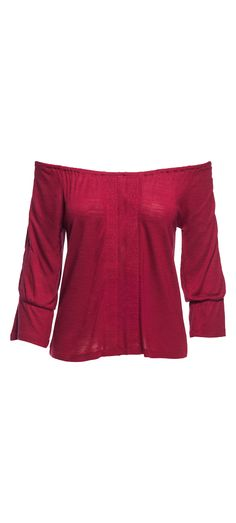 Sanctuary Bella Off the Shoulder Top in Boheme Red / Manage Products / Catalog / Magento Admin