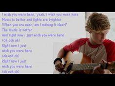 Cody Simpson feat Becky G – Wish U Were Here Cody Simpson, Becky G, Wish You Are Here, Her Music, Music Videos, Singing, Lyrics, Good Things, Song Lyrics
