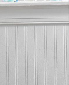 Gentil Beadboard Paintable Wallpaper | Paintable Wallpaper, Wallpaper And Bead  Board Wallpaper