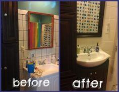 500 bathroom makeover in 3 days