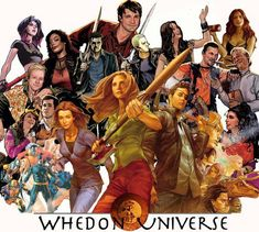 Joss Whedon - I love that whoever made this put the Astonishing X-Men in there. I feel that series goes very unnoticed by Whedonverse fans. It is one of my favorite things that Joss Whedon has written. And it is one of my favorite X-Men series.