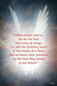 ♡☆ When Angel's Visit Us ☆♡ Heavenly Angels, Angels In Heaven, Guardian Angel Quotes, Guardian Angels, Fallen Angels, Ascended Masters, Intuition, Cherubs, Angel Protector