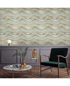 Tempaper Travertine Self-Adhesive Wallpaper & Reviews - Wallpaper - Home Decor - Macy's