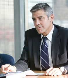 """George Clooney en """"Up in the Air"""", 2009"""