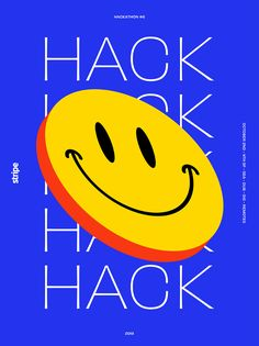 Mercedes Bazan designed the Hackathon Poster Series. This project consists of a series of posters created for the Hackathon at Stripe. Web Design, Logo Design, Design Layouts, Brochure Design, Poster Series, Typographic Design, Design System, Graphic Design Posters, Kids Graphic Design
