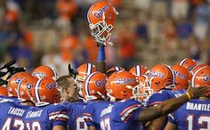The only time orange is acceptable is when it's with that Gator blue.
