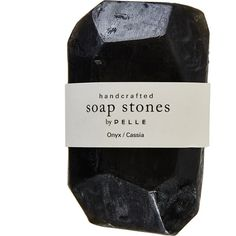 2oz Cassia Stone Soap (12 CAD) ❤ liked on Polyvore featuring beauty products, bath & body products, body cleansers, fillers, beauty, makeup, black fillers, black, backgrounds and jean & oliver pelle