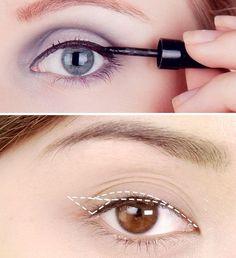 4 Wrong Ways to Use Eyeliner: