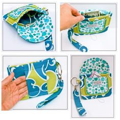 HIPSTER Bag and Wristlet ((PDF SEWING Pattern))