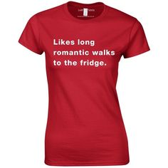 Likes Long Romantic Walks To The Fridge Top ($19) ❤ liked on Polyvore featuring tops, t-shirts, women, long beach t shirts, long shirt, t shirt, long tee and beach shirts