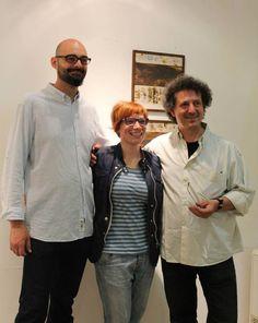 """Mostra collettiva Giovanni Maffucci, Mirco Denicolo', laura Scopa.  """"Le forme della terra"""" Fiesole 2015"""