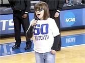 Blind Disabled Girl Sings the Star Spangled Banner - and It's Breathtaking!