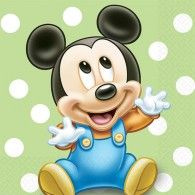 Mickey Mouse Baby Poster - 2 Sizes Available Disney Kids Poster Pixar & Garden Baby Mickey Mouse, Festa Mickey Baby, Mickey Mouse And Friends, Baby Mickey Cake, Mickey 1st Birthdays, Mickey Mouse First Birthday, 1st Boy Birthday, Mickey Mouse Imagenes, Retro Disney
