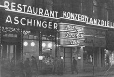 Berlin, eines der vielen Aschinger Restaurants, um 1930.