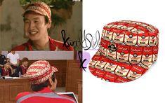 K-world Style (K-pop & K-Drama Fashion): Running Man Style: Lee Kwang Soo wears the Sakun G-CAN CAP