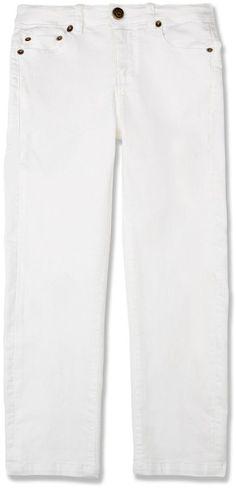 Marie Chantal Boys White Skinny Jean