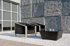 Outdoor furniture by outer eden - the cube outdoor chairs