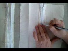 26콘실지퍼달기 couture-conceal zipper .mp4 - YouTube Embossing Folder, Zipper, Couture, Sewing, Dressmaking, Stitching, Zippers, Haute Couture, Sew