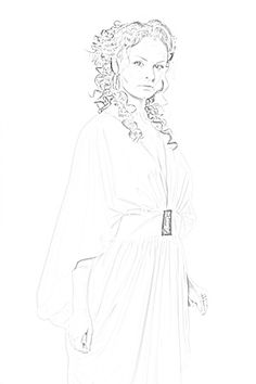 Matisera Sherrilyn Kenyon Books, Chronicles Of Nick, Dark Hunter, Hunters, The Darkest, Aurora Sleeping Beauty, Sketch, Characters, Sketch Drawing