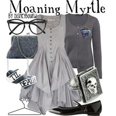I found 'Harry Potter Moaning Myrtle Inspired Fashion' on Wish, check it out!
