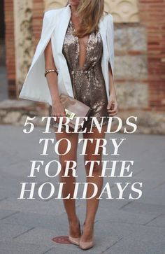 #1? The sequin jumpsuit of course...