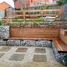 example of our gabion baskets used to solve a river erosion problem. Gabion wall is curved. Gabion Stone, Gabion Retaining Wall, Backyard Retaining Walls, Gabion Fence Ideas, Diy Fence, Gabion Wall Design, Fence Design, Backyard Garden Design, Backyard Landscaping
