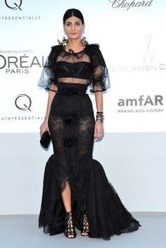 Cannes: gala amfAR Giovanna Battaglia