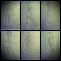 the wedding dress  design by wika