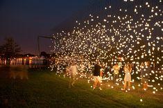 luces colgantes para jardin - Buscar con Google