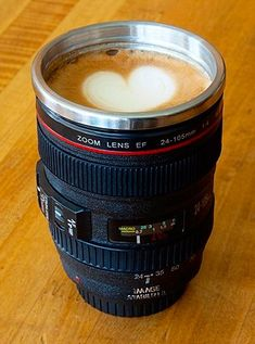 Camera Lens Coffee Mug - for the shutterbug