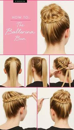 How To Make The Ballerina Bun