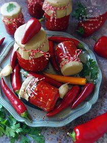 """Az otthon ízei: Házi """"Erős Pista"""" - paprikakrém Ketchup, Pickles, Cucumber, Food, Essen, Meals, Pickle, Yemek, Zucchini"""