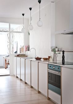 my scandinavian home: A Pearl of a Home in Stockholm! Photography Isabelle Pedersen #kitchen #swedishhome