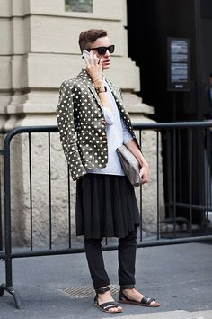 On the Street….Piazza Oberdan, Milan - The Sartorialist